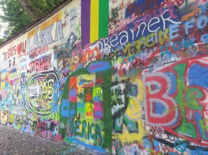 The Graffiti Wall, Prague